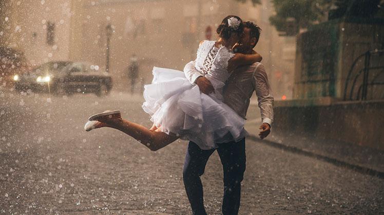 Que hacer si llueve en tu boda