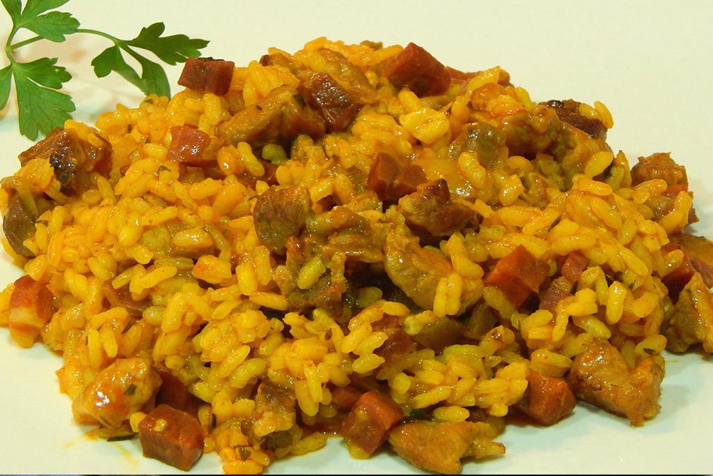 arroz a la Toledana